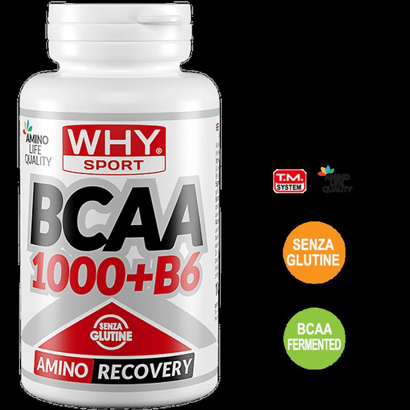 BCAA_1000_+B6-100 Compresse-Why Sport