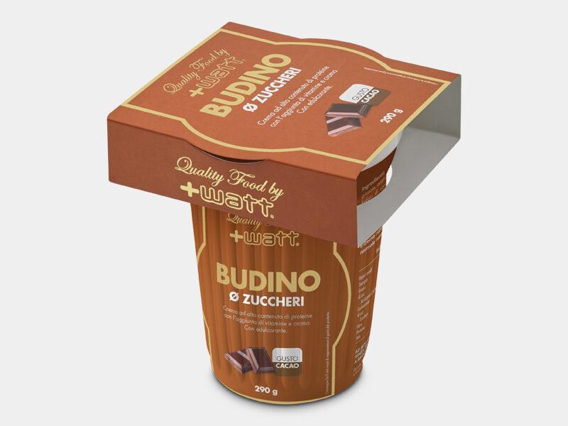DESCRIZIONE Budino Ø Zuccheri è una crema gustosa al cioccolato, in pratico formato monouso, ad alto contenuto proteico con l'aggiunta di vitamine e cromo.GLUTEN FREE È ricco di proteine del latte ad alto valore biologico, buono e senza zuccheri aggiunti. Infatti, una porzione da 290g contiene solamente poco più di un grammo di zucchero. È stato addizionato anche di vitamine (vitamina C, vitamina E, B3, B5, vitamina A, vitamina D3, B6, B2, B1, B9, B8, B12). Potenzia questa azione il cromo picolinato, che supporta il mantenimento di livelli normali di glucosio nel sangue. Il budino si presta bene ad un corretto recupero muscolare dopo attività intensa e/o prolungata, per supportare la massa magra/massa muscolare. Chi non pratica attività fisica, può assumere il budino come spuntino a metà mattina o metà pomeriggio. Inoltre, potrebbe essere utile anche in diete alimentari con ridotto apporto di zuccheri Indicazioni d'uso.SPORT: per alimentarsi dopo sforzi prolungati e/o di potenza. VITA QUOTIDIANA: come spuntino completo (mattutino o pomeridiano) o dessert salutare. Formato: 290 g Gusto:cacao