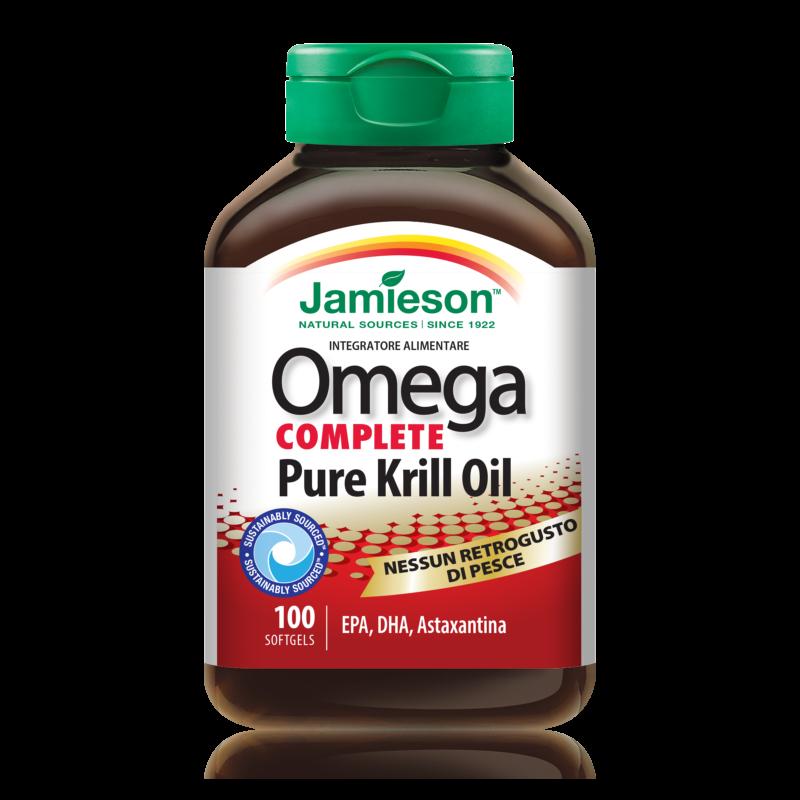 OmegaComplete_PureKrillOil_100 x 500mg_Jamieson
