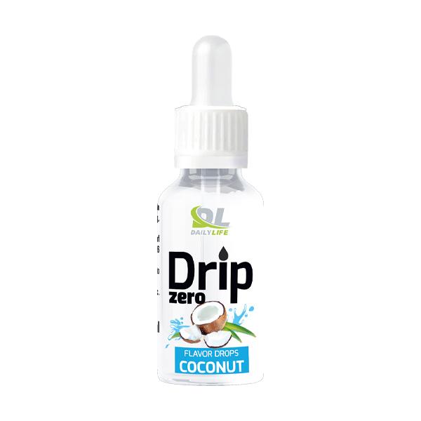 coconut-drip Aromi dolcificanti concentrati in forma liquida, senza aggiunta di zuccheri o carboidrati