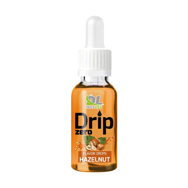 drip-zero-hazelnut Aromi dolcificanti concentrati in forma liquida, senza aggiunta di zuccheri o carboidrati